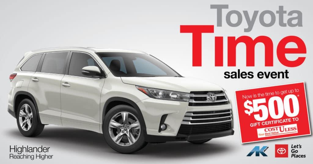 Toyota Time - Highlander