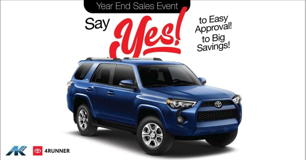 YES to 4Runner