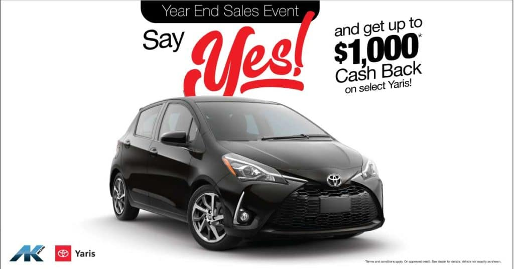 YES to Yaris