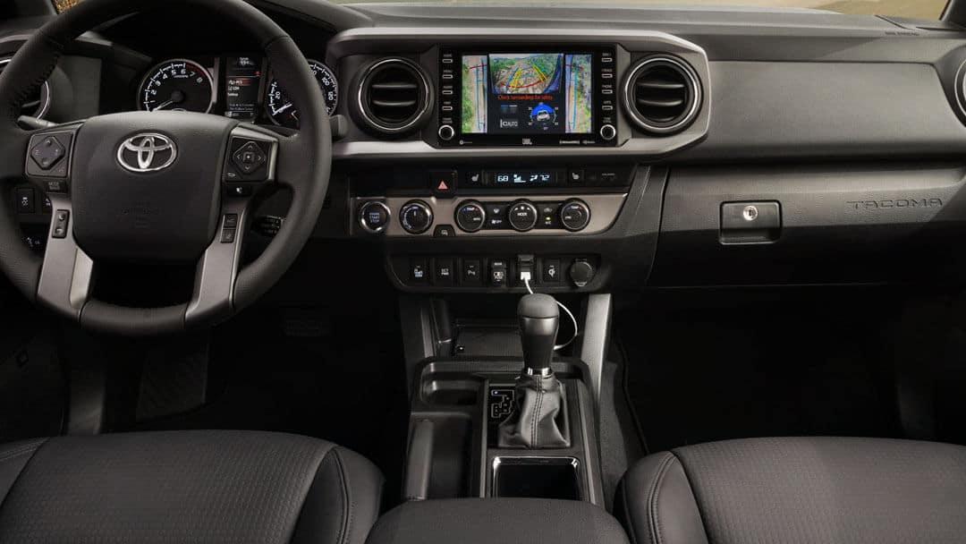 2021 Tacoma available multi-terrain monitor