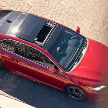 2018 Toyota Camry Panoramic Roof