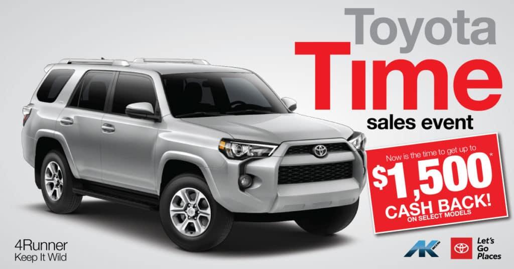 Toyota Time - 4Runner