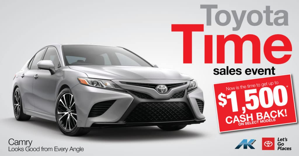 Toyota Time - Camry