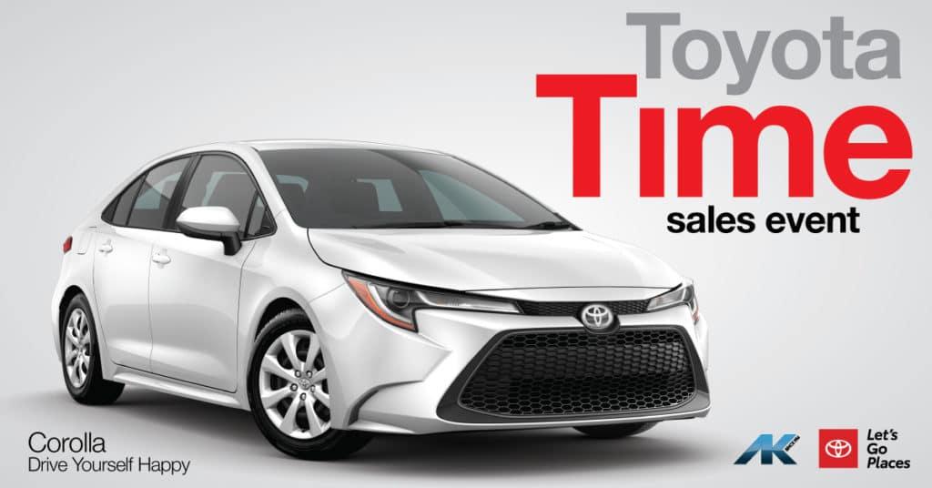 Toyota Time - Corolla