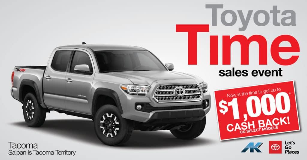 Toyota Time - Tacoma