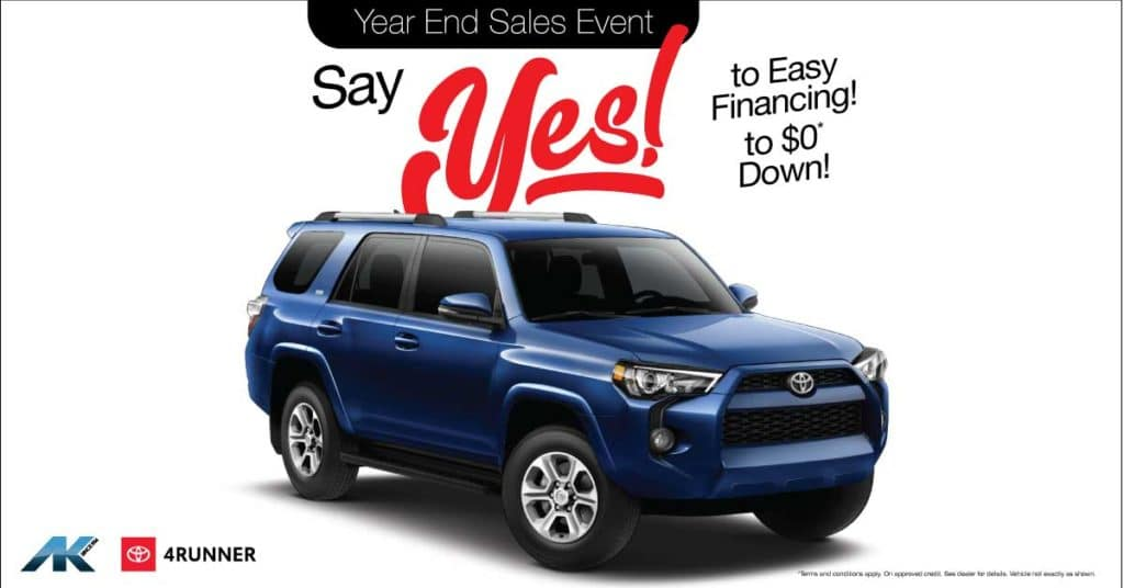 Say YES! to 4Runner
