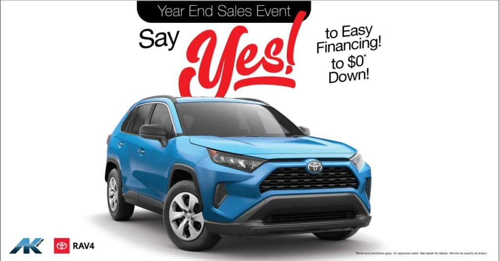 Say YES! to RAV4