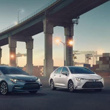 Corolla XSE and Hybrid