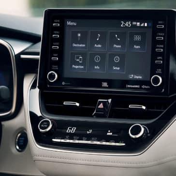 Corolla XLE 7-in TouchScreen