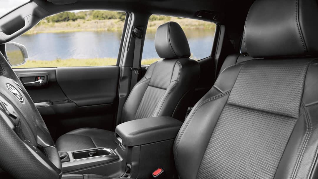 2021 Tacoma leather interior