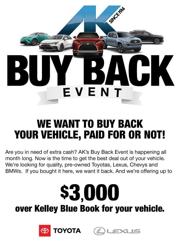 AK buy back