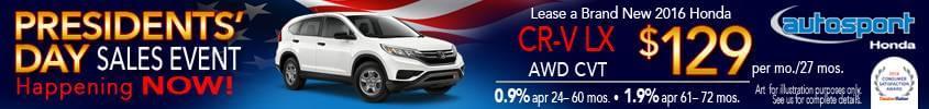 Honda Monthly Specials