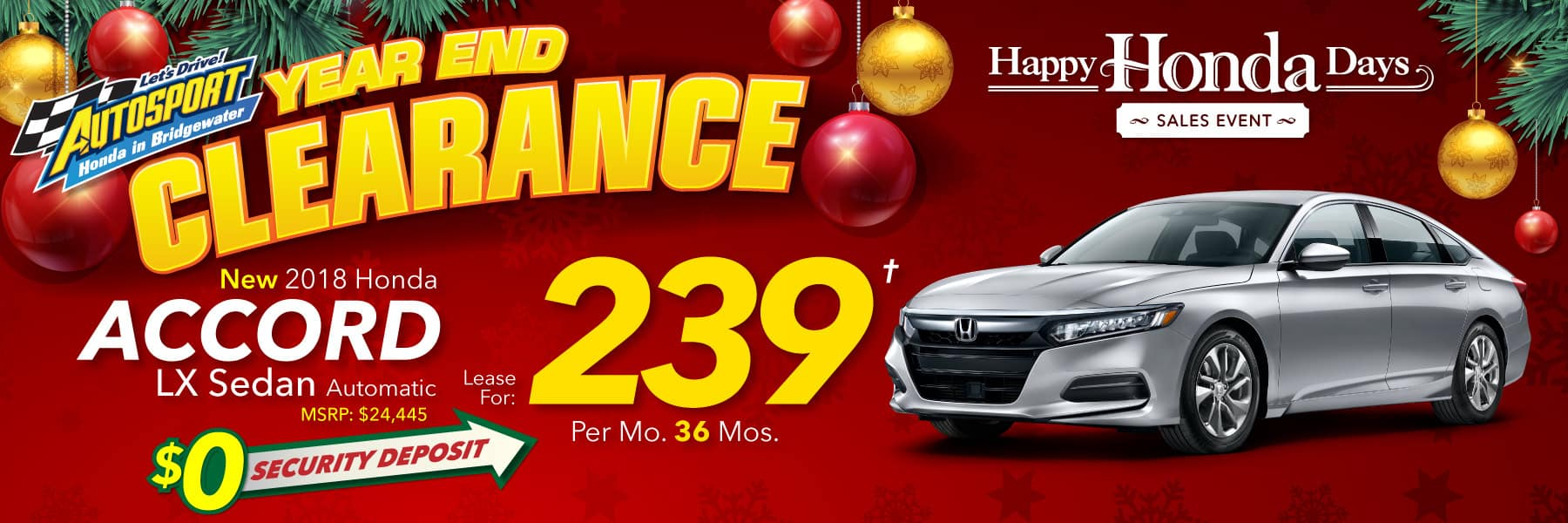 We offer a variety of Honda service specials for those needing to stay within a certain budget. Our specials change often to fit the needs of our drivers to be sure to check back if you don't find one that works for you. If you are in need of new replacement parts for your current car, check out our Honda parts specials for extra.