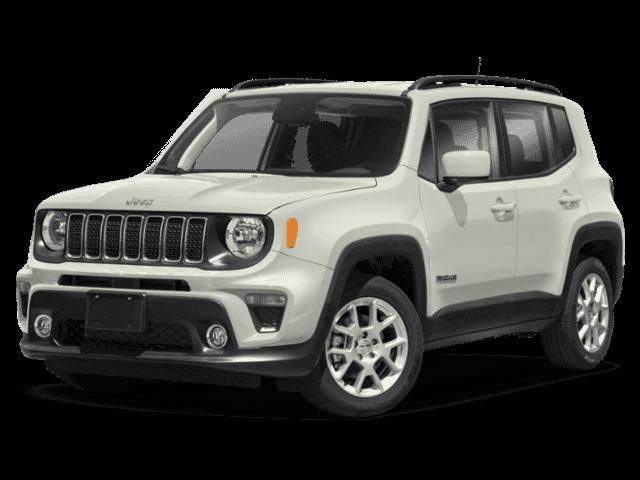 White 2020 Jeep Renegade Latitude