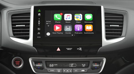 2017 Honda Pilot Display Audio with Apple Carplay