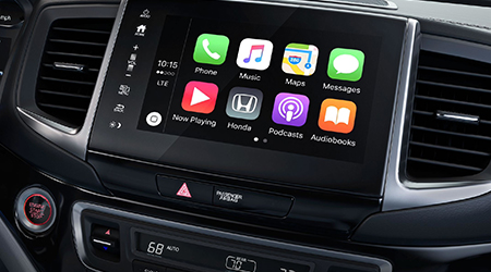 2018 Honda Ridgeline Apple CarPlay