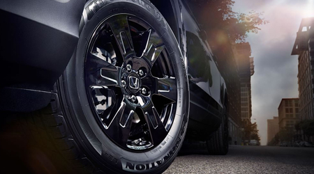 2020 Honda Ridgeline Black Edition 18-inch Black Alloy Wheels