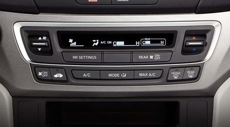 2018 Honda Pilot Tri-zone Automatic Climate Control