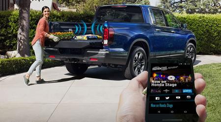 2019 Honda Ridgeline Truck Bed Audio System