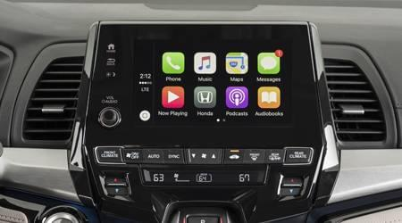 apple carplay in 2020 honda odyssey