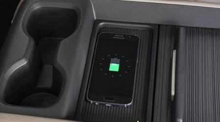 2018 odyssey wireless phone charging