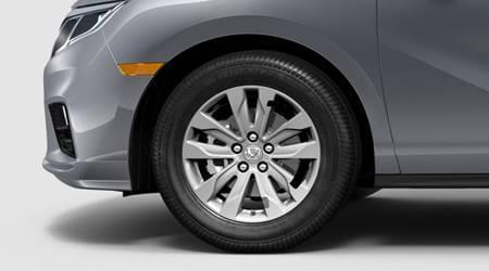 2018 odyssey 18 inch alloy wheels