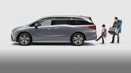 2020 honda odyssey hands-free access power tailgate