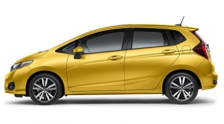 2019 Honda Fit EX in Helios Yellow Pearl