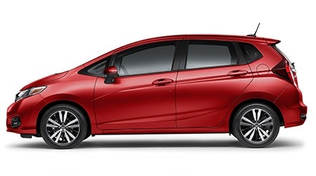 2019 Honda Fit EX-L in Milano Red