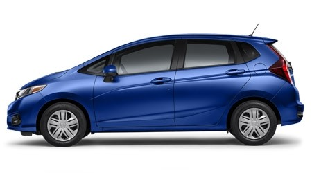 2019 Honda Fit LX in Aegean Blue Metallic