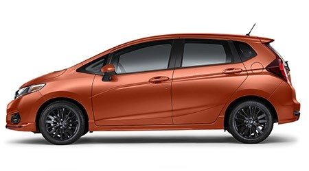 2019 Honda Fit Sport in Orange Fury
