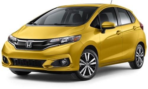 2019 Honda Fit Helios Yellow Pearl