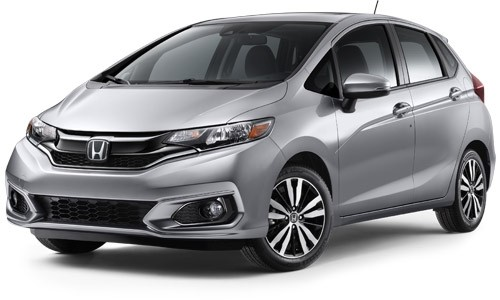 2018 Honda Fit Lunar Silver Metallic