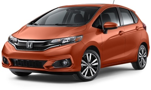 2018 Honda Fit Orange Fury
