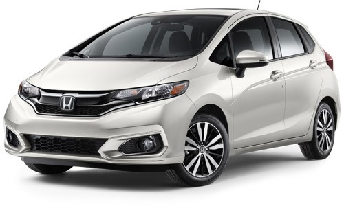 2019 Honda Fit White Orchid Pearl