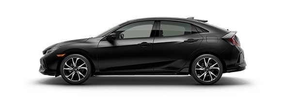 2017 Honda Civic Hatchback Crystal Black Pearl