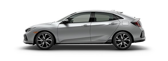 2017 Honda Civic Hatchback Lunar Silver Metallic