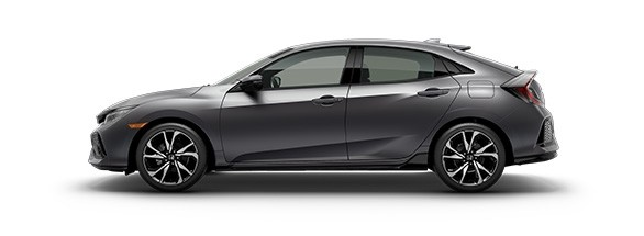 2017 Honda Civic Hatchback Polished Metal Metallic