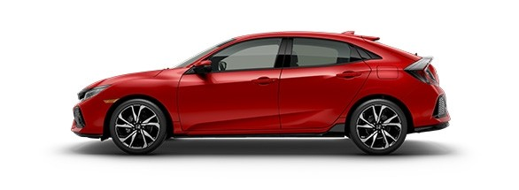 2017 Honda Civic Hatchback Rallye Red