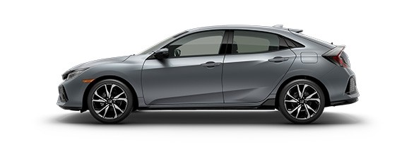 2018 Honda Civic Hatchback Sonic Gray Pearl
