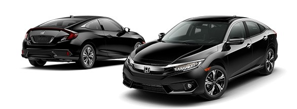 2017 Honda Civic Crystal Black Pearl