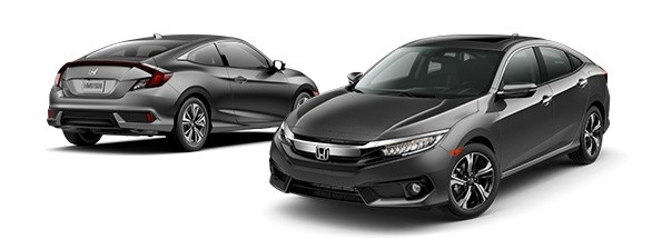 2017 Honda Civic Modern Steel Metallic
