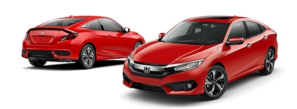 2018 Honda Civic Rallye Red