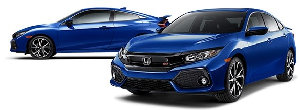 2017 Honda Civic Si Aegean Blue Metallic