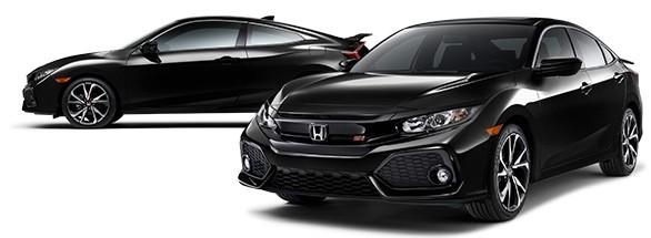 2018 Honda Civic Si Crystal Black Pearl