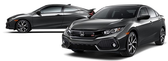 2018 Honda Civic Si Modern Steel Metallic