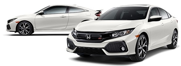 2018 Honda Civic Si Orchid White Pearl