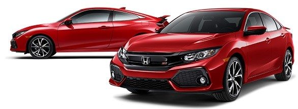 2017 Honda Civic Si Rallye Red