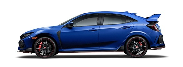 2017 Honda Civic Type R Aegean Blue Metallic