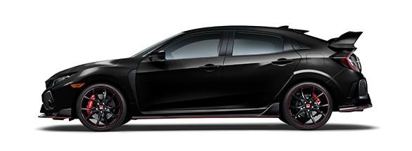 2017 Honda Civic Type R Crystal Black Pearl
